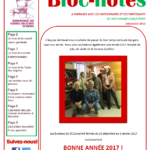 Bloc-notes | décembre 2016