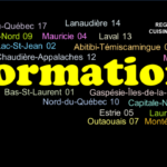 FORMATION : Calendrier hiver-printemps 2018