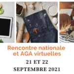 Rencontre nationale et AGA 2021