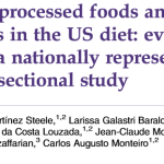 Rapport-Ultra-processed foods and added sugars in the US diet: evidence from a nationally representative cross-sectional study