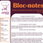 Bloc-notes automnal!