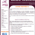 Bloc-notes | septembre 2016